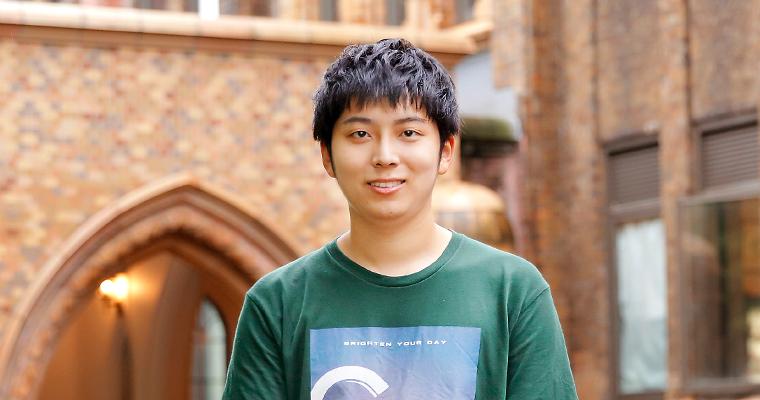 第6回 北大フロンティアプログラム第3期生 郭 一凡(カク・イチハン)さんへのインタビュー